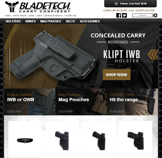 Bladetech-Webtenet